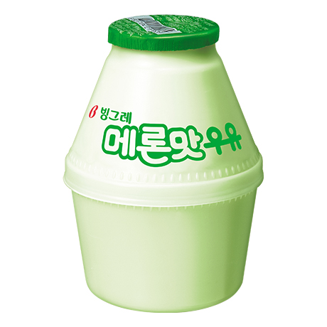 Binggrae Flavored Milk (Melon)