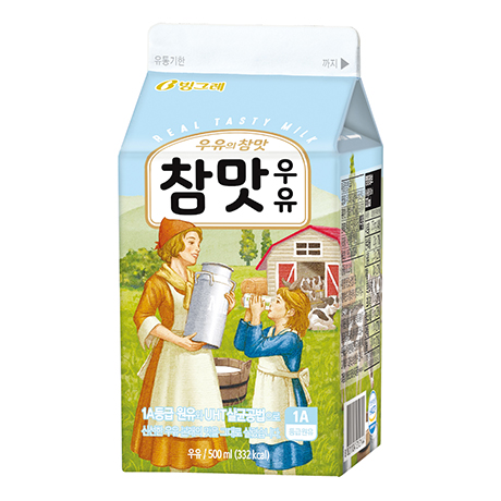 Cham-Maat(Real Taste) Milk(500ml)
