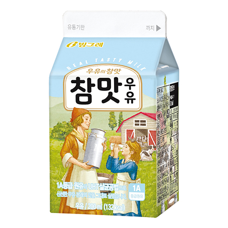 Cham-Maat(Real Taste) Milk(200ml)