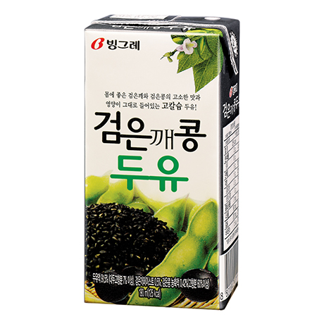 Black sesame soymilk