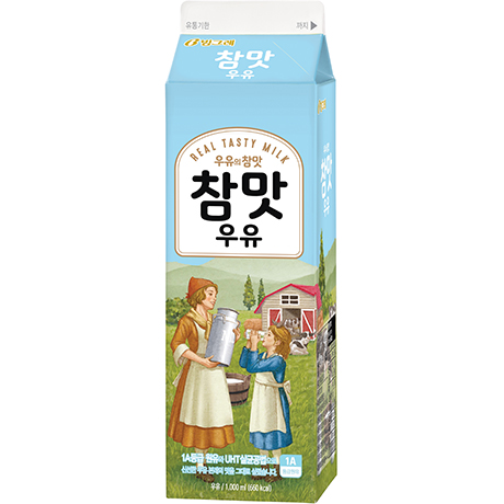 Cham-Maat(Real Taste) Milk(1000ml)